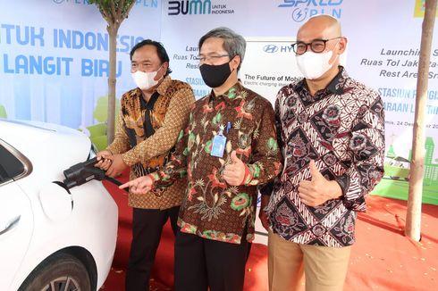 Mobil Listrik Sudah Bisa Isi Daya di Ruas Tol Surabaya-Jakarta, Ini Titiknya