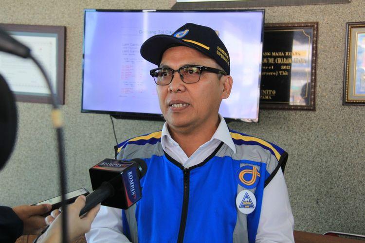 Direktur Utama PT Jasa Marga (Persero) Tbk Subakti Syukur.