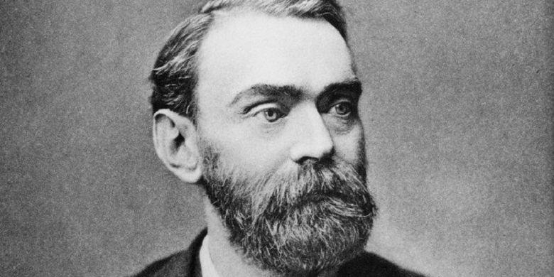 Alfred Nobel, penemu dinamit dan penggagas Hadiah Nobel.