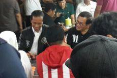 Usai Kampanye Tertutup, Jokowi Ngopi Bareng di Sentra Kuliner Malang