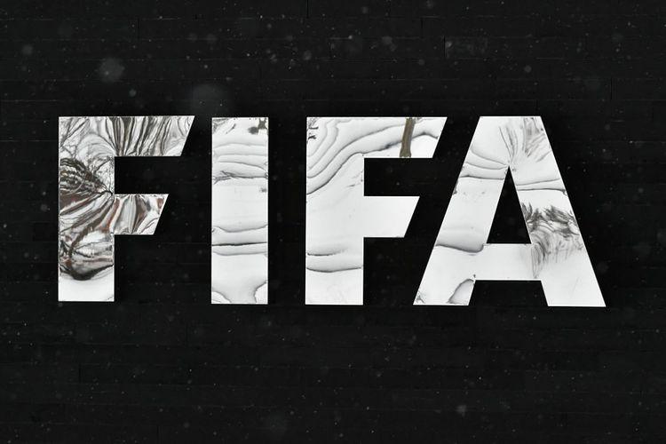Logo FIFA di markas induk organisasi sepak bola dunia di Swiss. Foto diambil pada 10 Januari 2017.