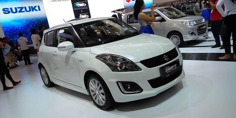 Suzuki Swift dengan tambahan aksesori