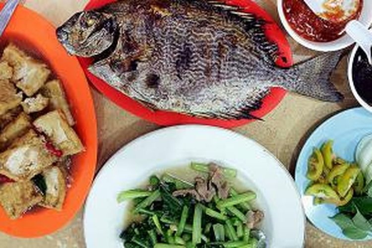 Hidangan Ikan Bakar