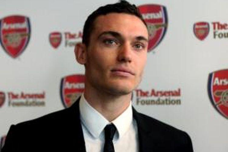 Bek Arsenal asal Belgia, Thomas Vermaelen.