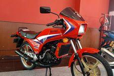 Motor Langka Kawasaki AR125 Mejeng di IIMS 2021, Musuh Berat RX-King