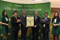 Skytrax: Citilink Maskapai Terbaik Pertama di Asia untuk