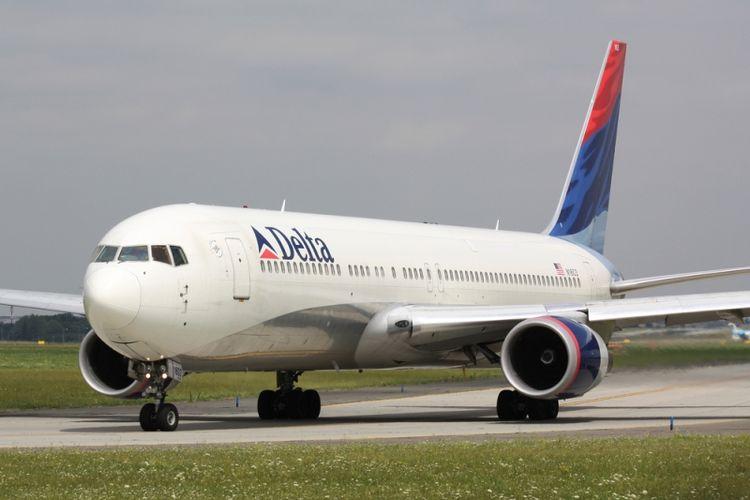 Ilustrasi maskapai Delta Airlines. (Shutterstock)