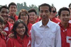 Jokowi Penuhi Janji Pemprov DKI kepada Atlet Pelajar