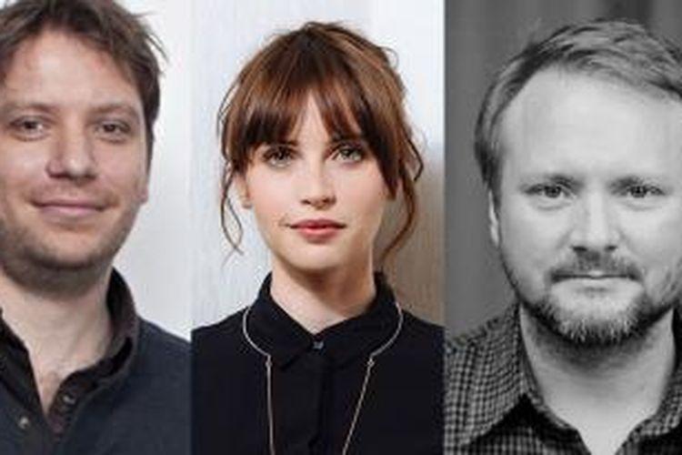 Gareth Edward, Felicity Jones dan Rian Johnson akan menggarap dan membintangi film