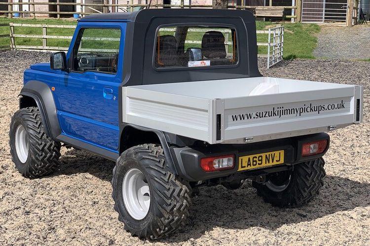 Suzuki Jimny pikap hasil modifikasi