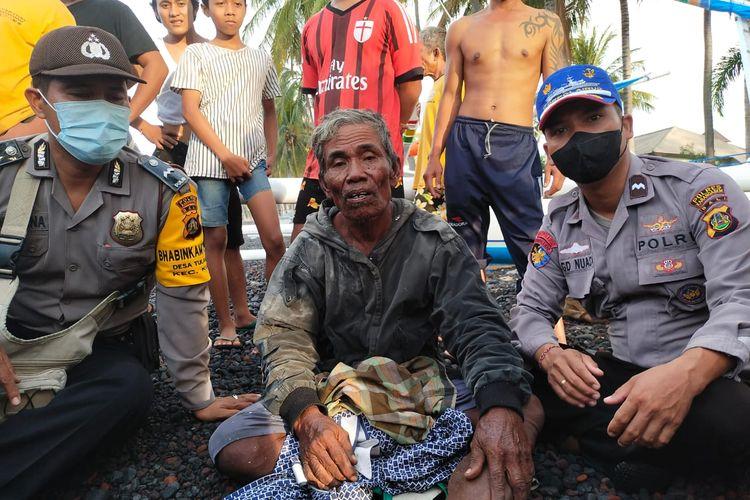 Samaila Sikki nelayan Sulawesi Terombang-ambing di Laut kemudian selamat di Bali