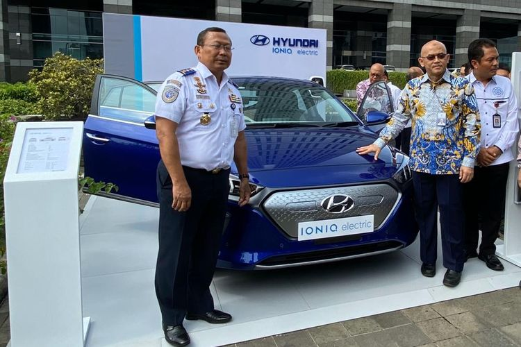 Hyundai Ioniq di Rakornis Kemenhub