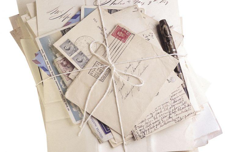 Ilustrasi surat.
