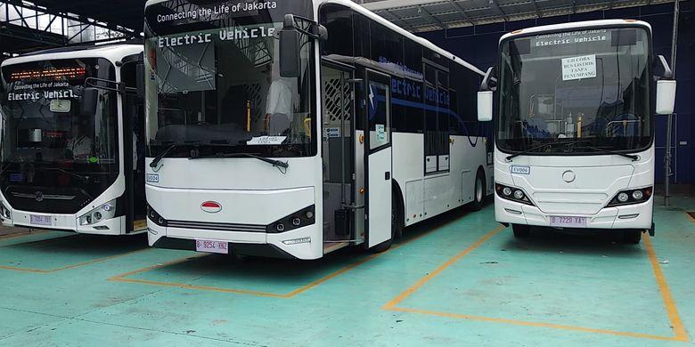 Bus listrik medium Inka E-Inobus