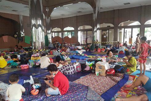 Terdampak Banjir, 601 Warga Cipinang Melayu Mengungsi ke Universitas Borobudur