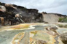 Air Panas Sipoholon, Sumber Air Sisa Letusan Gunung Martimbang
