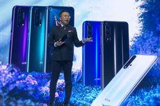 Smartphone Honor 20, Honor 20 Pro, dan Honor 20 Lite Resmi Meluncur