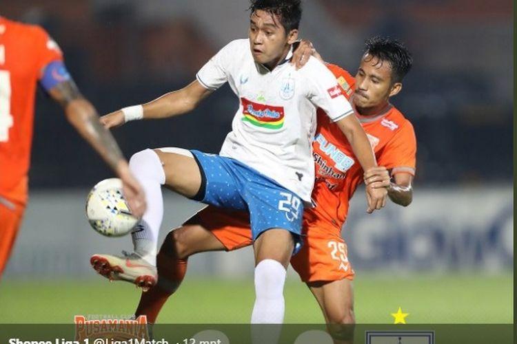 Laga antara Borneo FC vs PSIS Semarang di Stadion Segiri, Samarinda (10/7/2019) dalam lanjutan pekan ke-8 Liga 1 2019 berakhir dengan kemenangan 2-0 tim tuan rumah.