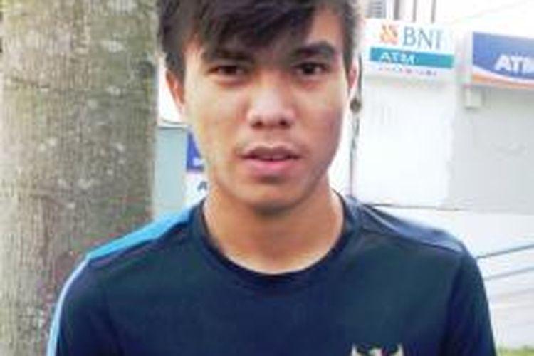 Gelandang Tim Nasional Indonesia U-19, Paulo Oktavianus Sitanggang.
