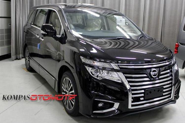 Nissan Elgrand Autech sudah ditunjukkan di Autech Japan Inc.