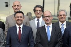 Mantan Presiden Barcelona Ditangkap Kepolisian Spanyol