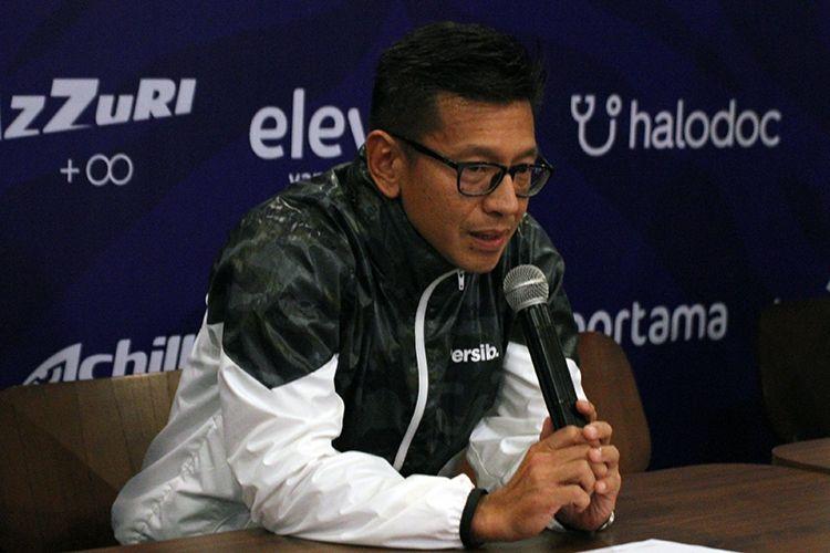 Direktur PT Persib Bandung Bermartabat, Teddy Tjahyono, (KOMPAS.com/SEPTIAN NUGRAHA)