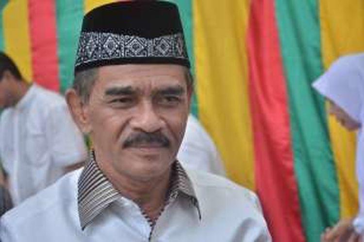 Bupati Aceh Utara, Aceh, H Muhammad Thaib akrab disapa Cek Mad