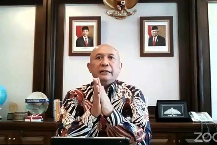 Menteri Koperasi dan Usaha Kecil Menengah Teten Masduki. (DOK. KEMENKOP UKM)