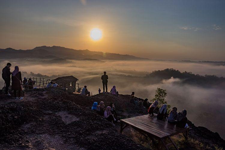 Gunung Ireng, salah satu tempat wisata di Kabupaten Gunungkidul.