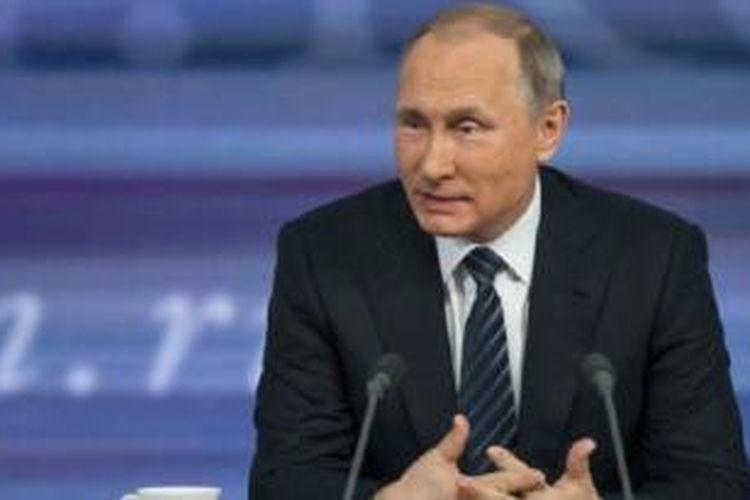 Dalam jumpa pers, Putin juga menyinggung berbagai masalah dunia, selain pertikaian dengan Turki.