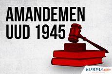Bola Liar Amendemen UUD 1945, Jalan Mundur Demokrasi?