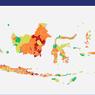 Update: Daftar 53 Daerah Berstatus Zona Merah Covid-19 di Indonesia