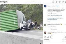 Hyundai Palisade Tertimpa Kontainer, Ingat Bahaya Menyalip dari Kiri