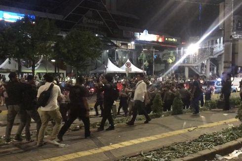 Polisi Tangkap Provokator Pengunjuk Rasa di Depan Kantor Bawaslu
