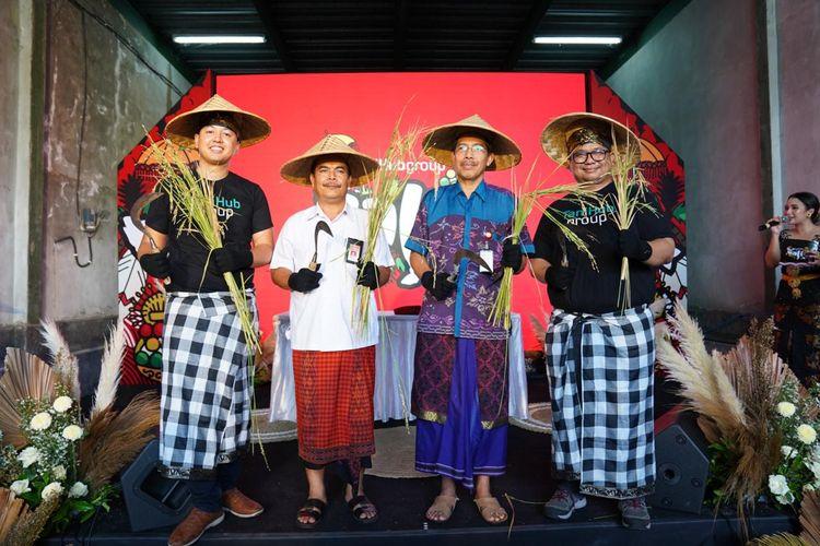 Peresmian cabang dan gudang TaniHub di Bali, Kamis (30/1/2020)