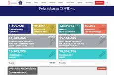 Update 10 Daerah Zona Merah dan 8 Zona Hijau Covid-19 di Indonesia