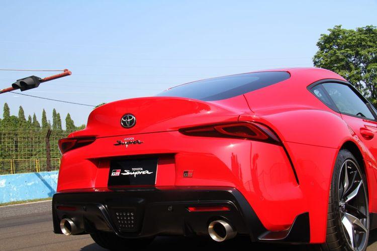 Test Drive Toyota GR Supra di Sirkuit Sentul