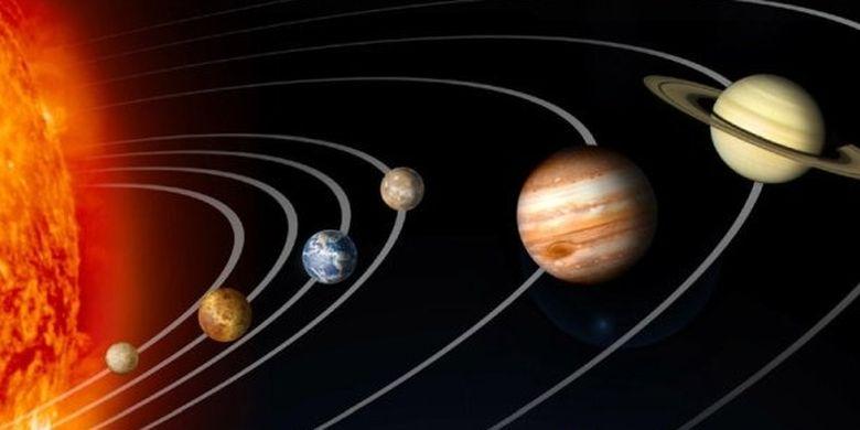 Peredaran Planet Pada Matahari Halaman All Kompas Com