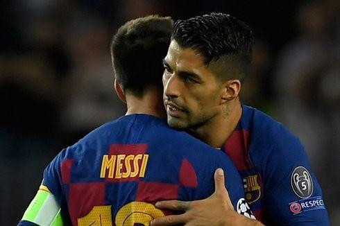Messi dan Suarez Dinilai Tak Saling Memahami Saat Awal Main di Barcelona