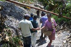 Tanah Longsor di Desa Tunbaun, NTT Terus Bergerak, Warga Diminta Tak Mendekat