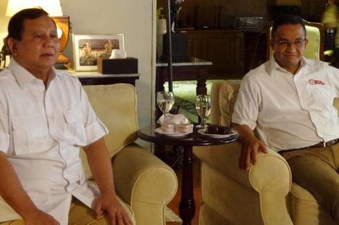 Prabowo Beri Masukan ke Anies-Sandi untuk Debat Pilkada