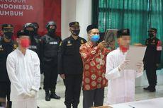 Sepanjang 2021, 38 Napi Kasus Terorisme di Nusakambangan Ikrar Setia NKRI