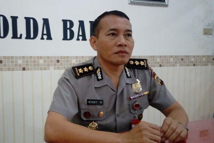Kepala Bidang Hubungan Masyarakat Polda Bali Ajun Komisaris Besar Hengky Widjaja.