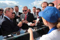 Bahas Konflik Suriah, Putin Undang Erdogan ke Rusia