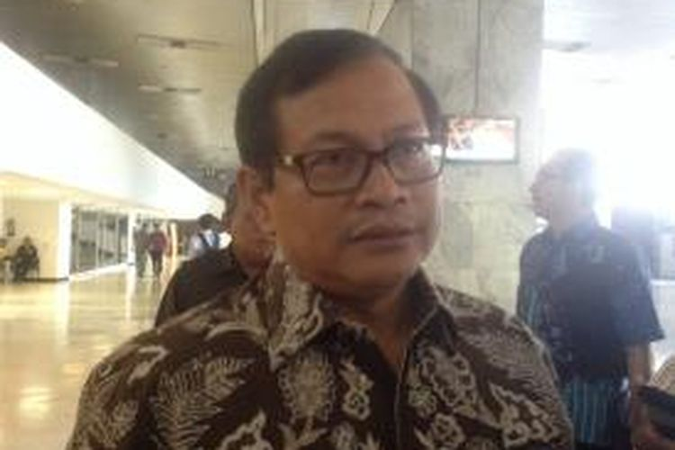 Pramono Anung Wibowo, Wakil Ketua DPR, saat ditemui di DPR RI, Rabu (23/4/2014).