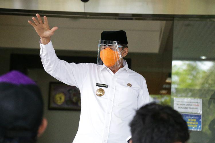 Gubernur Banten Wahidin Halim menyiapkan lahan pemakaman jenazah Covid-19