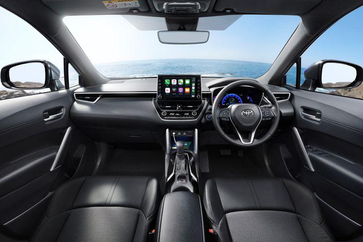 Ilustrasi Toyota Corolla Cross JDM