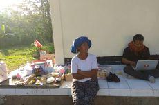 Kampung Sepi, Ibu Rauh Jualan di Pos Pemantauan Gunung Agung