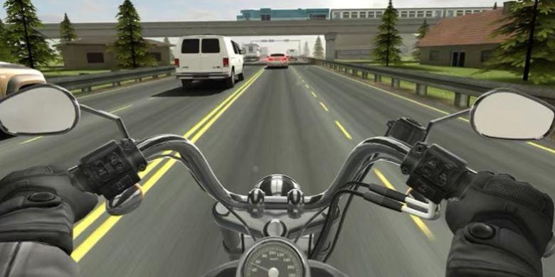 Game Motor Traffic Rider