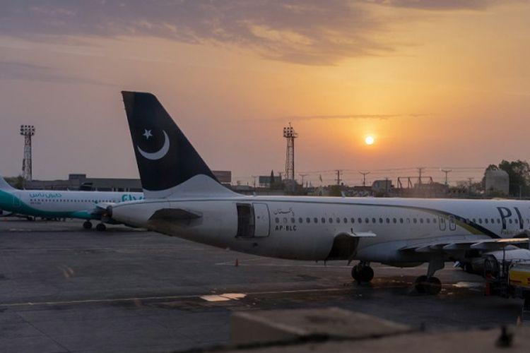 Bandara Islamabad, Pakistan.